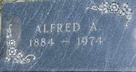 ANDERSON, ALFRED A. - Cedar County, Nebraska | ALFRED A. ANDERSON - Nebraska Gravestone Photos