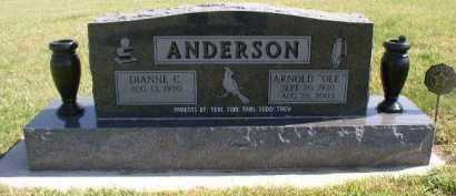 ANDERSON, ARNOLD (OLE) V. - Cedar County, Nebraska | ARNOLD (OLE) V. ANDERSON - Nebraska Gravestone Photos