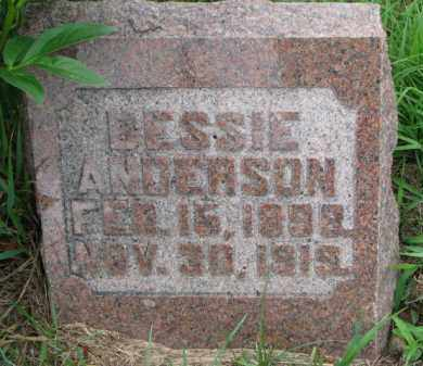 ANDERSON, BESSIE - Cedar County, Nebraska | BESSIE ANDERSON - Nebraska Gravestone Photos