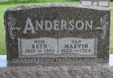 ANDERSON, BETH - Cedar County, Nebraska | BETH ANDERSON - Nebraska Gravestone Photos