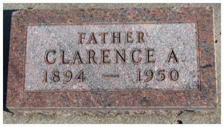 ANDERSON, CLARENCE A. - Cedar County, Nebraska | CLARENCE A. ANDERSON - Nebraska Gravestone Photos