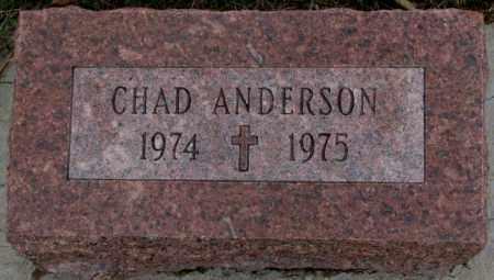 ANDERSON, CHAD - Cedar County, Nebraska | CHAD ANDERSON - Nebraska Gravestone Photos