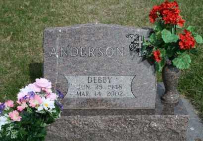 ANDERSON, DEBBY - Cedar County, Nebraska | DEBBY ANDERSON - Nebraska Gravestone Photos