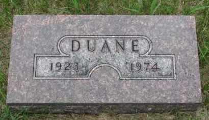 ANDERSON, DUANE - Cedar County, Nebraska | DUANE ANDERSON - Nebraska Gravestone Photos