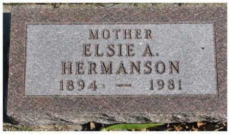 ANDERSON, ELSIE A. - Cedar County, Nebraska | ELSIE A. ANDERSON - Nebraska Gravestone Photos