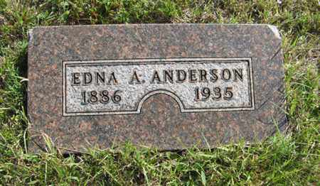 ANDERSON, EDNA A. - Cedar County, Nebraska | EDNA A. ANDERSON - Nebraska Gravestone Photos
