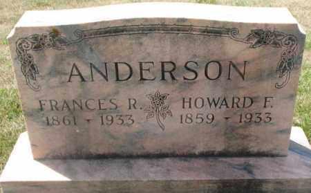 ANDERSON, HOWARD F. - Cedar County, Nebraska | HOWARD F. ANDERSON - Nebraska Gravestone Photos