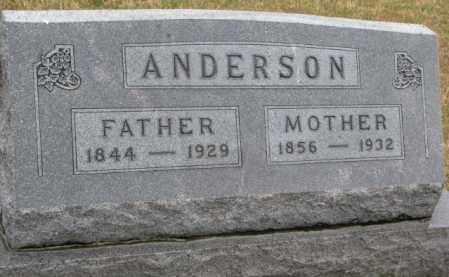 ANDERSON, ANDERS - Cedar County, Nebraska | ANDERS ANDERSON - Nebraska Gravestone Photos