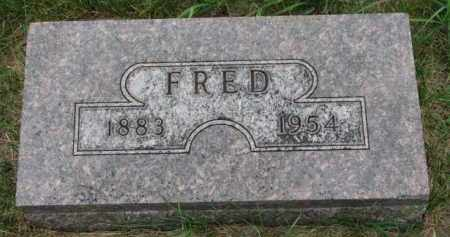 ANDERSON, FRED - Cedar County, Nebraska | FRED ANDERSON - Nebraska Gravestone Photos