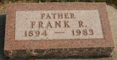 ANDERSON, FRANK R - Cedar County, Nebraska | FRANK R ANDERSON - Nebraska Gravestone Photos