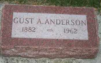 ANDERSON, GUST A - Cedar County, Nebraska   GUST A ANDERSON - Nebraska Gravestone Photos
