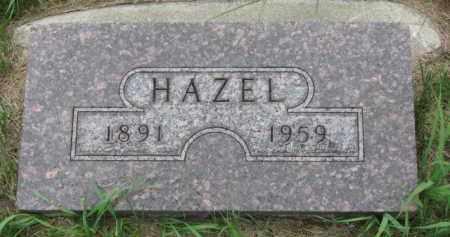 ANDERSON, HAZEL - Cedar County, Nebraska | HAZEL ANDERSON - Nebraska Gravestone Photos