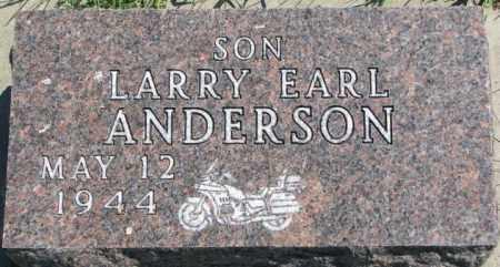 ANDERSON, LARRY EARL - Cedar County, Nebraska | LARRY EARL ANDERSON - Nebraska Gravestone Photos