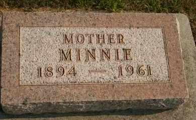 ANDERSON, MINNIE - Cedar County, Nebraska | MINNIE ANDERSON - Nebraska Gravestone Photos