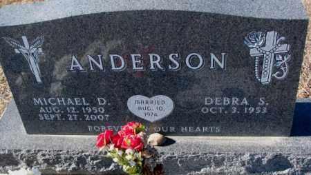 ANDERSON, MICHAEL D. - Cedar County, Nebraska | MICHAEL D. ANDERSON - Nebraska Gravestone Photos