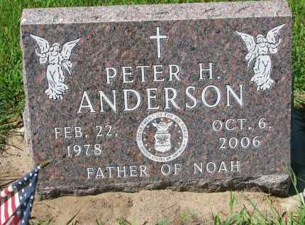 ANDERSON, PETER H. - Cedar County, Nebraska | PETER H. ANDERSON - Nebraska Gravestone Photos