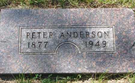 ANDERSON, PETER - Cedar County, Nebraska | PETER ANDERSON - Nebraska Gravestone Photos