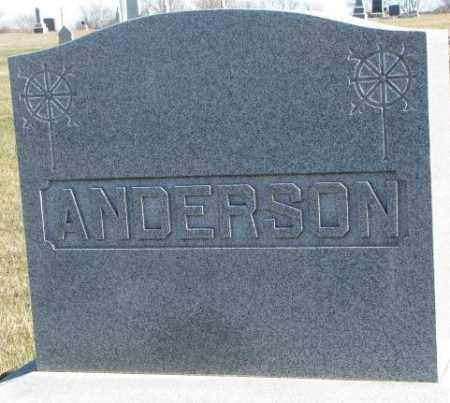 ANDERSON, PLOT - Cedar County, Nebraska | PLOT ANDERSON - Nebraska Gravestone Photos