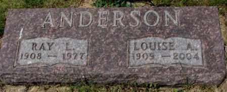 ANDERSON, LOUISE A. - Cedar County, Nebraska | LOUISE A. ANDERSON - Nebraska Gravestone Photos