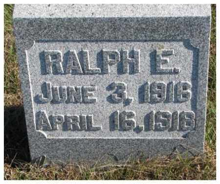 ANDERSON, RALPH E. - Cedar County, Nebraska | RALPH E. ANDERSON - Nebraska Gravestone Photos
