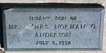 ANDERSON, SON - Cedar County, Nebraska | SON ANDERSON - Nebraska Gravestone Photos