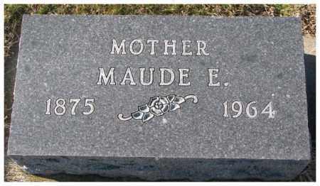 ANTRIM, MAUDE E. - Cedar County, Nebraska | MAUDE E. ANTRIM - Nebraska Gravestone Photos