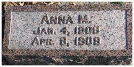 ARDUSER, ANNA M. - Cedar County, Nebraska | ANNA M. ARDUSER - Nebraska Gravestone Photos