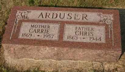 ARDUSER, CHRIS - Cedar County, Nebraska | CHRIS ARDUSER - Nebraska Gravestone Photos