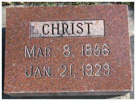 ARDUSER, CHRIST - Cedar County, Nebraska | CHRIST ARDUSER - Nebraska Gravestone Photos