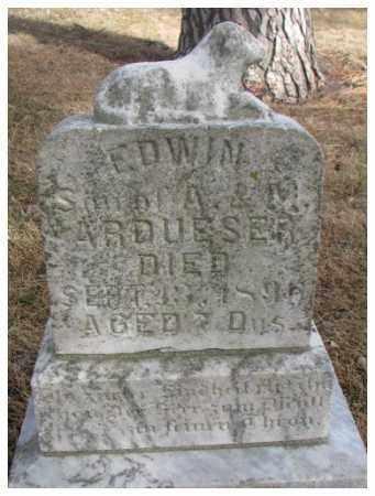 ARDUSER, EDWIN - Cedar County, Nebraska   EDWIN ARDUSER - Nebraska Gravestone Photos