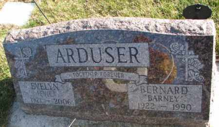 ARDUSER, EVELYN - Cedar County, Nebraska | EVELYN ARDUSER - Nebraska Gravestone Photos