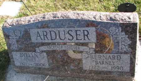ARDUSER, EVELYN - Cedar County, Nebraska | EVELYN ARDUSER - Nebraska Gravestone Photos