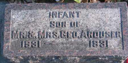 ARDUSER, INFANT SON - Cedar County, Nebraska | INFANT SON ARDUSER - Nebraska Gravestone Photos