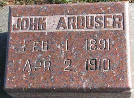 ARDUSER, JOHN - Cedar County, Nebraska   JOHN ARDUSER - Nebraska Gravestone Photos