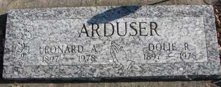 ARDUSER, DOLIE R. - Cedar County, Nebraska | DOLIE R. ARDUSER - Nebraska Gravestone Photos