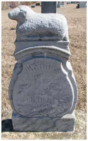 ARDUSER, MATHIAS - Cedar County, Nebraska | MATHIAS ARDUSER - Nebraska Gravestone Photos