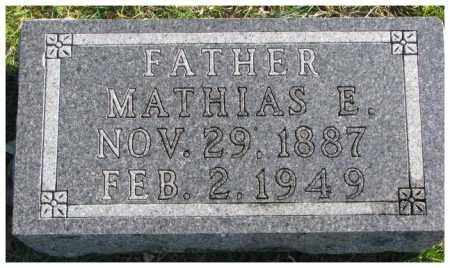 ARDUSER, MATHIAS E. - Cedar County, Nebraska | MATHIAS E. ARDUSER - Nebraska Gravestone Photos