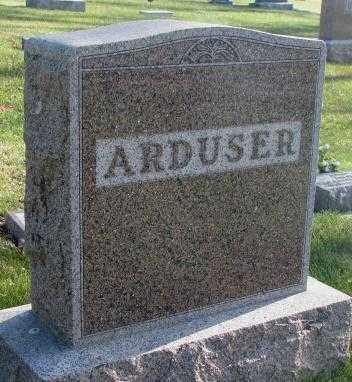 ARDUSER, PLOT - Cedar County, Nebraska | PLOT ARDUSER - Nebraska Gravestone Photos