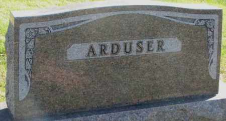 ARDUSER, PLOT - Cedar County, Nebraska | PLOT ARDUSER - Nebraska Gravestone Photos