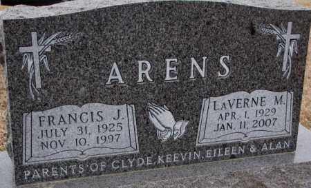 ARENS, LAVERNE M. - Cedar County, Nebraska | LAVERNE M. ARENS - Nebraska Gravestone Photos