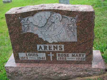 ARENS, ROSE MARY - Cedar County, Nebraska | ROSE MARY ARENS - Nebraska Gravestone Photos