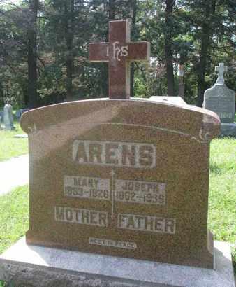 ARENS, JOSEPH - Cedar County, Nebraska | JOSEPH ARENS - Nebraska Gravestone Photos