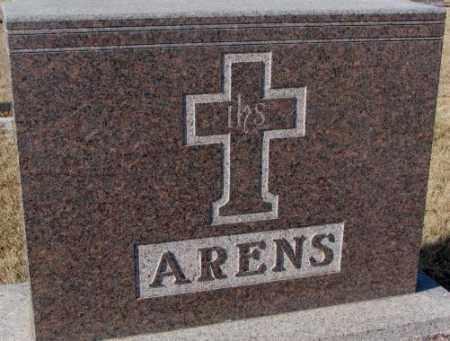 ARENS, PLOT - Cedar County, Nebraska | PLOT ARENS - Nebraska Gravestone Photos