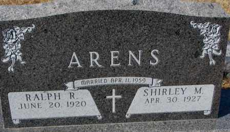 ARENS, SHIRLEY M. - Cedar County, Nebraska | SHIRLEY M. ARENS - Nebraska Gravestone Photos