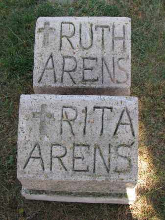 ARENS, RUTH - Cedar County, Nebraska | RUTH ARENS - Nebraska Gravestone Photos