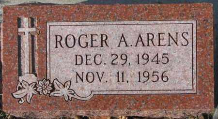 ARENS, ROGER A. - Cedar County, Nebraska | ROGER A. ARENS - Nebraska Gravestone Photos