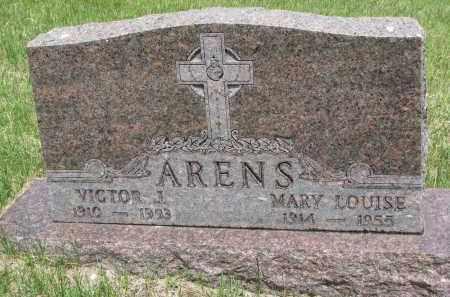 ARENS, VICTOR J. - Cedar County, Nebraska | VICTOR J. ARENS - Nebraska Gravestone Photos