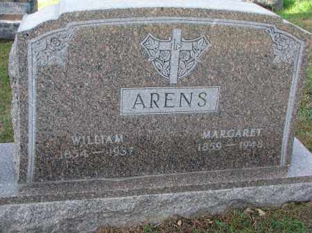 ARENS, WILLIAM - Cedar County, Nebraska | WILLIAM ARENS - Nebraska Gravestone Photos