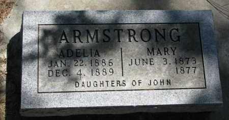 ARMSTRONG, MARY - Cedar County, Nebraska   MARY ARMSTRONG - Nebraska Gravestone Photos