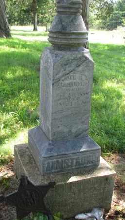 ARMSTRONG, JOHN H. - Cedar County, Nebraska   JOHN H. ARMSTRONG - Nebraska Gravestone Photos